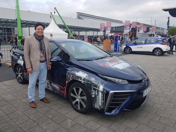 Hannover Messe Toyota Mirai Hydrochan mortimer schulz