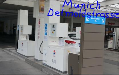 munich detmoldstrasse total hydrogen refuelling station hydrochan fcev