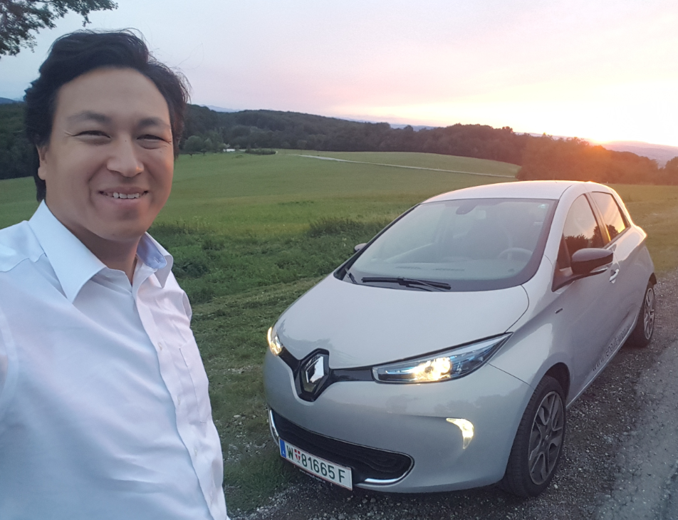 hydrochan other energytours blog vienna tulbinger kogel renault zoe sundown sunset