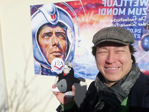 Hydrochan frielo mole perry rhodan Wettlauf zum Mond Karikaturmuseum krems