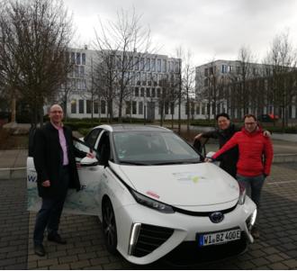 IMG_20190313_081041 Toyota Mirai front_hydrochan hessen Agentur wiesbaden_energy storage Europe_