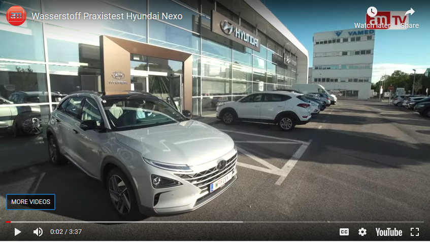 Video_Wasserstoff Praxistest Hyundai Nexo_www.automagazin.at_551 kilometres with 1 tank_Reichweiten und Geschwindigkeits Test Wasserstoff_wien offenbach innsbruck_may 2019_mortimer hydrochan