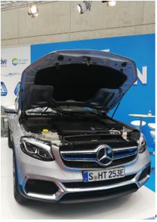 Mercedes Benz GLC FCELL_mortimer schulz solutions hydrochan_hannover messe_front motorhaube bonnet_hydrogen europe