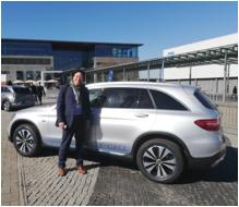Mercedes Benz GLC FCELL_mortimer schulz solutions hydrochan_hannover messe_side view seitenanischt