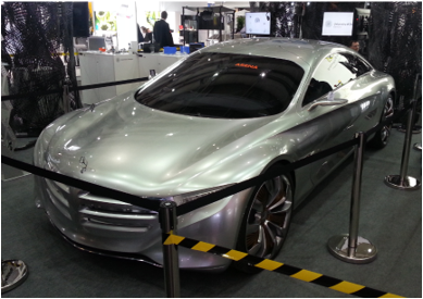 mercedes benz f125 gullwing fuel cell_hannover messe_mortimer schulz solutions hydrochan_silver