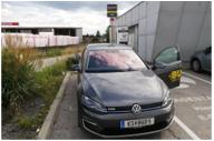 VW eGolf ID3_buddy carsharing birngruber_mortimer schulz solutions hydrochan_krems merkur landersdorfer strasse smatrics ccs ladesäule charging station