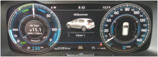 VW eGolf ID3_buddy carsharing birngruber_mortimer schulz solutions hydrochan_tacho reichweite beginn